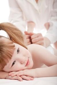 massage enfants petit